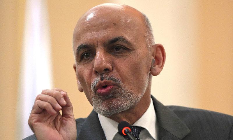 افغان صدراشرف غنی—۔فوٹو اے ایف پی