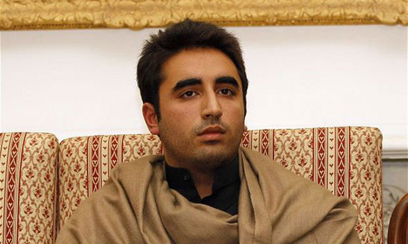 Chairman of the Pakistan People's Party Bilawal Bhutto Zardari.— AP file