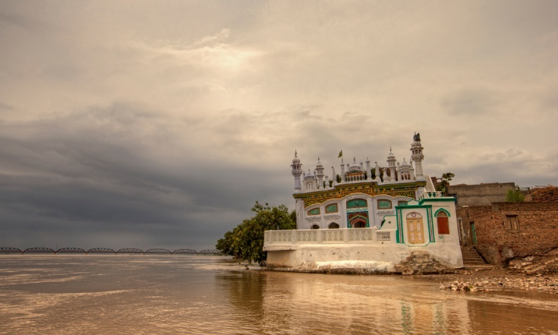 The edge of Kalabagh town. — Kohi Marri/File