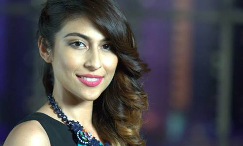 Meesha Shafi. – Photo credit: Tonite with HSY Facebook page