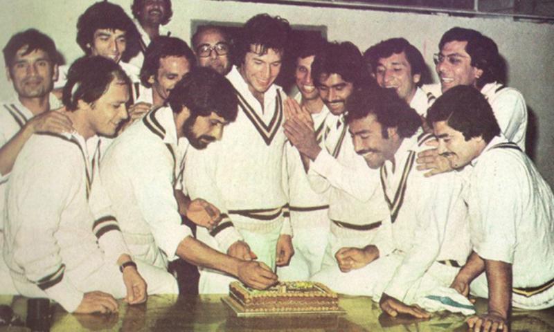 Celebrating captain Khan's birthday.— Courtesy Photo