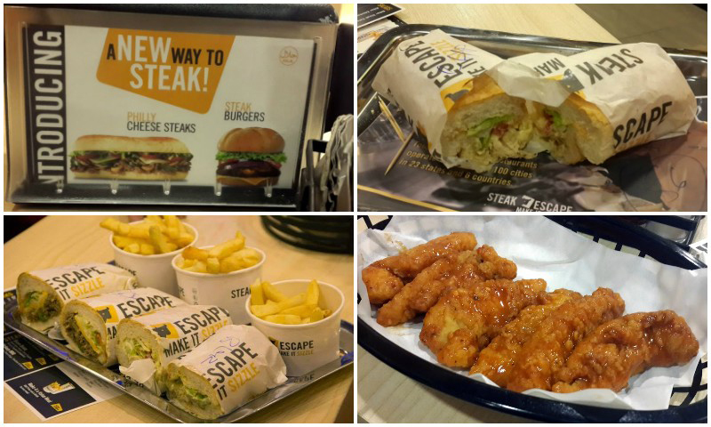 Steak Escape is aimed at the premium fast food market.