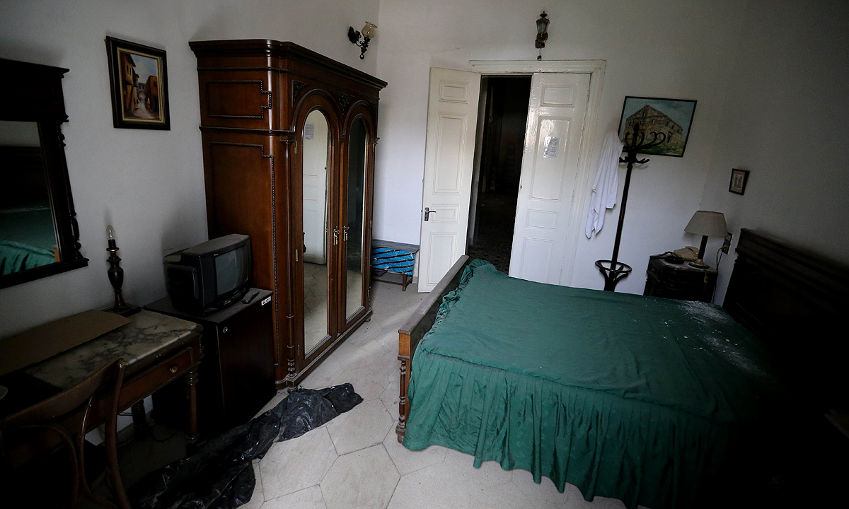 A room at the Baron Hotel. —AFP