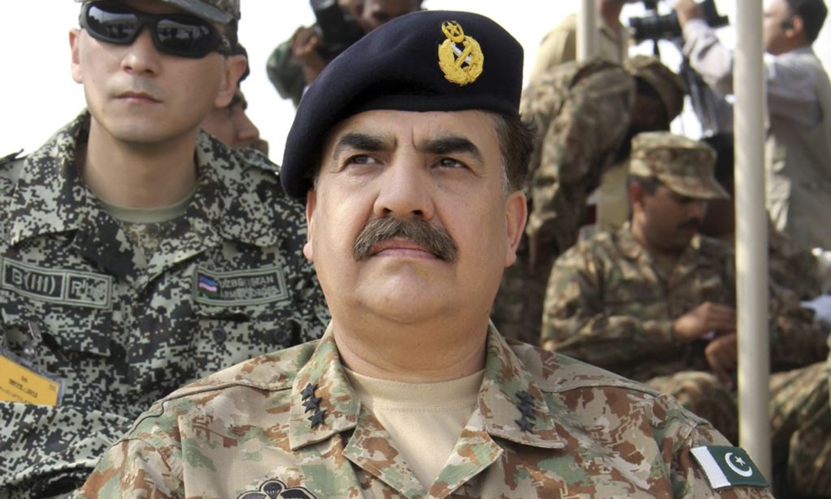 Chief of Army Staff General Raheel Sharif. - Reuters/File photo