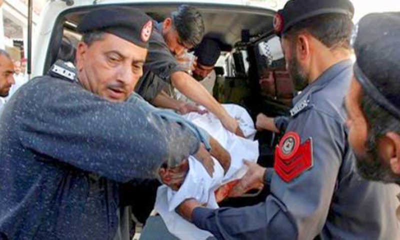 Karachi police have killed some 600 suspects in 'encounters' during 425 days of operation.—AP/File