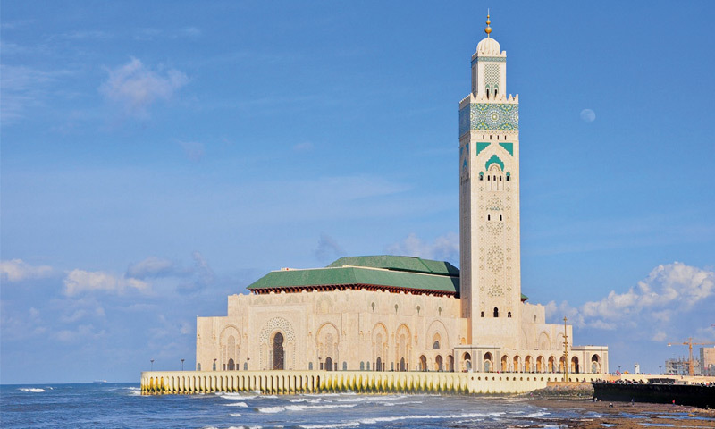 The King Hassan II Mosque