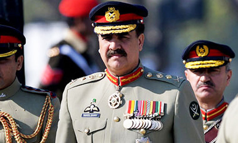 Army Chief Gen Raheel Sharif.    - AFP/file