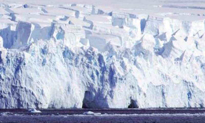 The climate change takes a heavy toll on glaciers.—AP/File