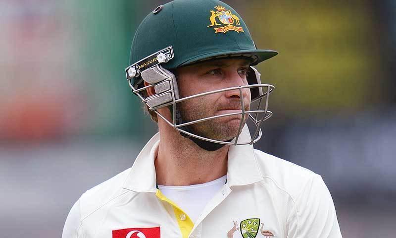 Australian batsman Phillip Hughes. — AFP/File