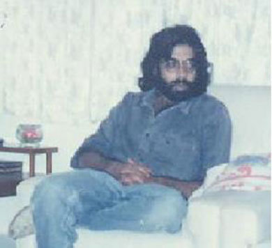 Hairy days 1989: By now I had realised my spiritual and ideological destiny lay somewhere else.