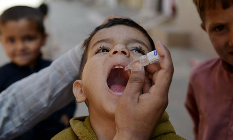 Khyber Agency has the highest number of reported polio cases after the restive North Waziristan Agency. — AFP/File