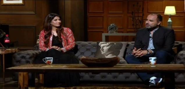 Vaneeza Ahmed and Deepak Perwani on 'Tonite With HSY'