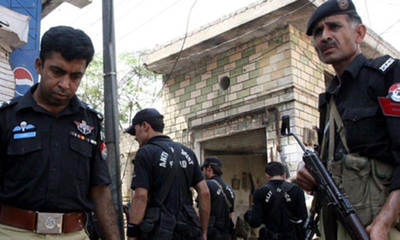 Security officials in Peshawar.  — AP/File