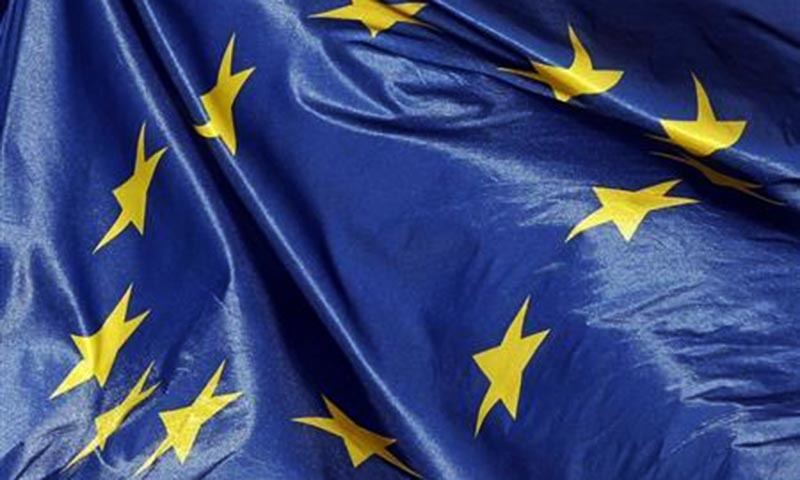 A flag of the European Union can be seen in this image.  — Reuters/file