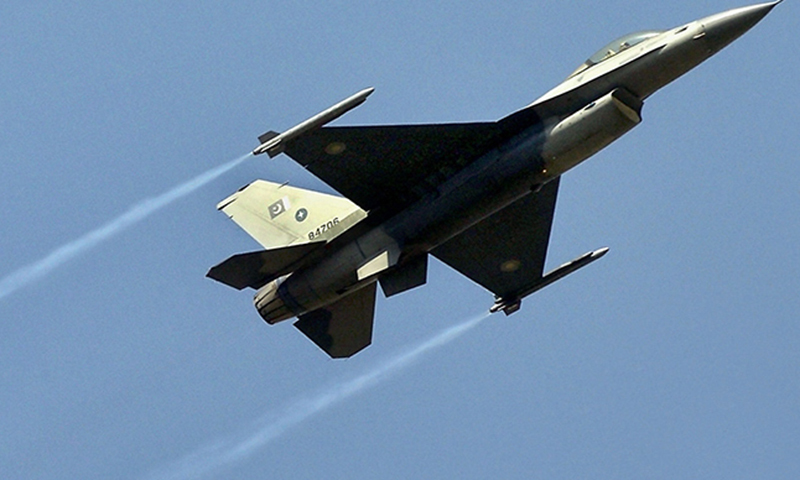 A Pakistan Air Force F16 fighter jet. — AFP/File