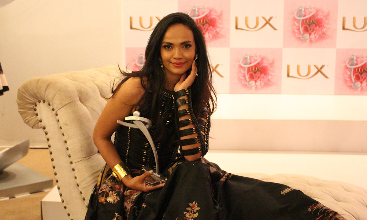 Aamina Sheikh won the Best Actress award for 'Seedlings'. — Photo by Mahjabeen Mankani