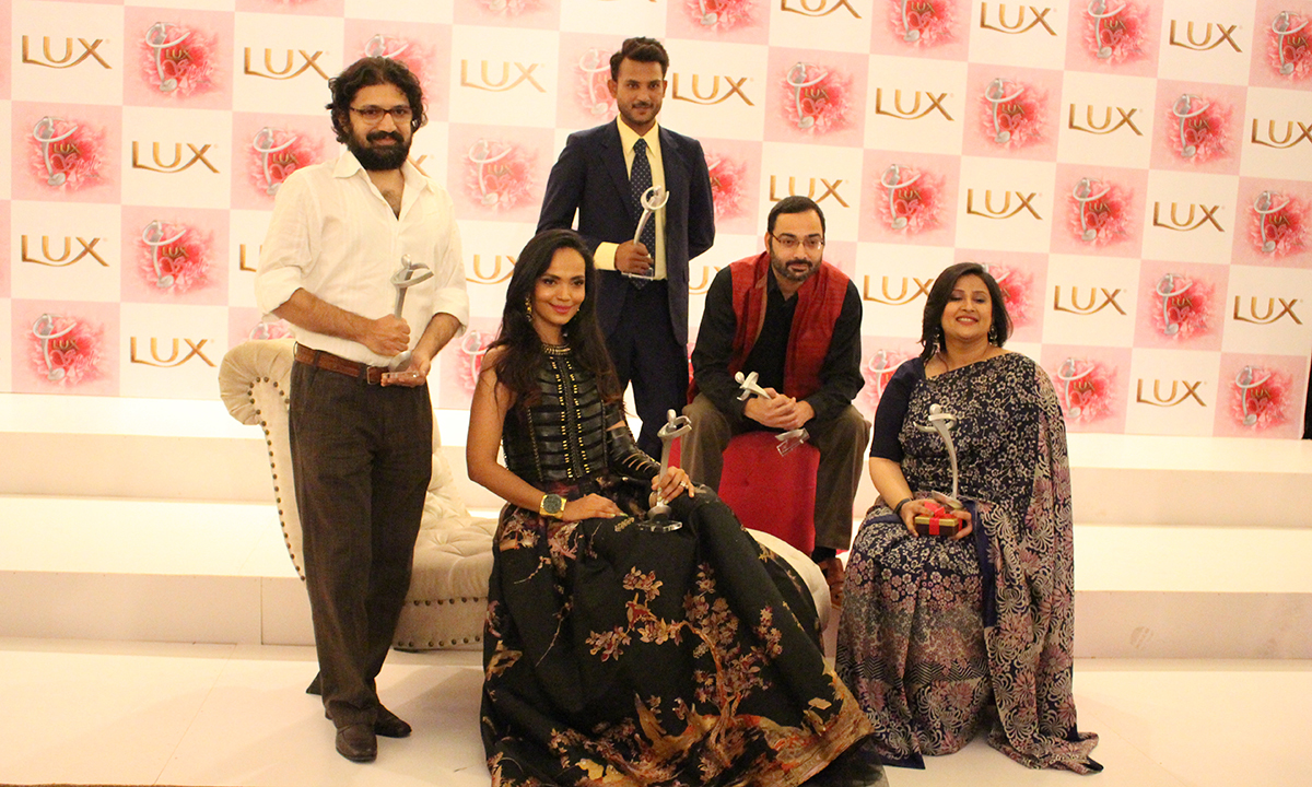 A group photo of the winners of LSA 2014. — Photo by Mahjabeen Mankani