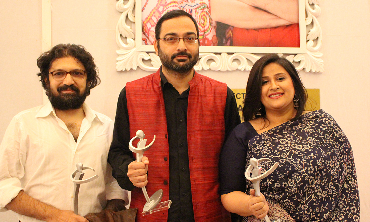 Meenu & Farjad won the Best Director award for 'Zinda Bhaag'. — Photo by Mahjabeen Mankani