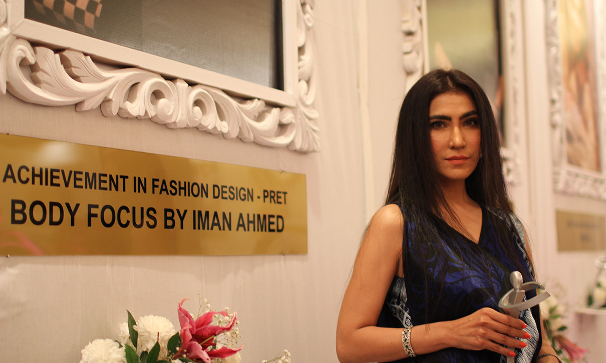 Body Focus by Iman Ahmed won the Achievement in Fashion Design - Prêt award. —Photo by Yumna Rafi