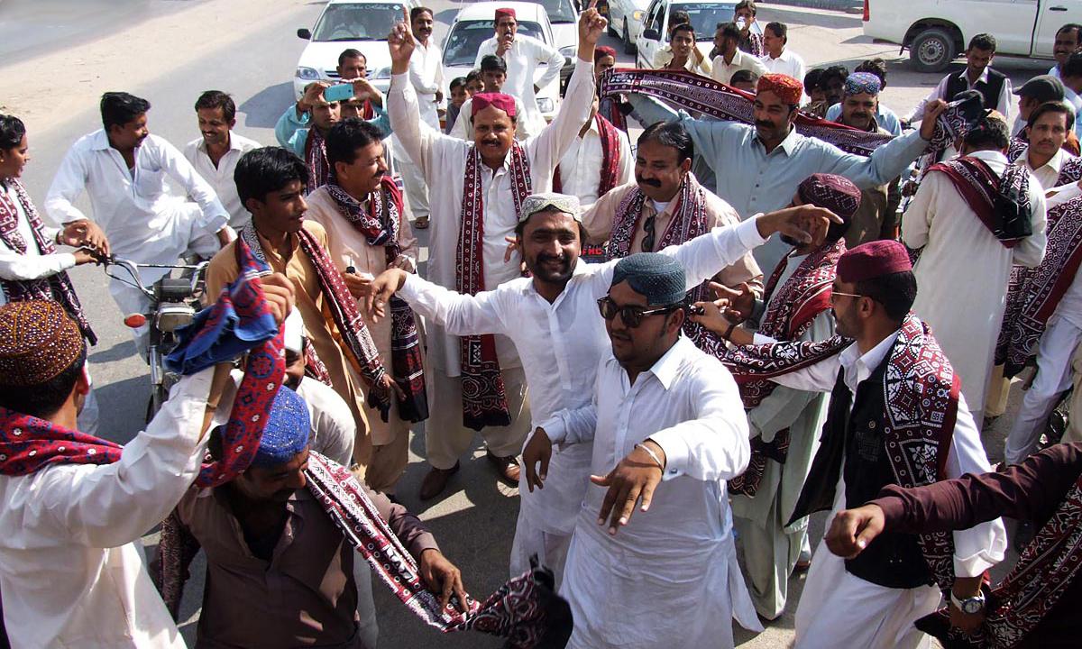 Sindhi Ajrak, Topi day celebrated in Dalllas