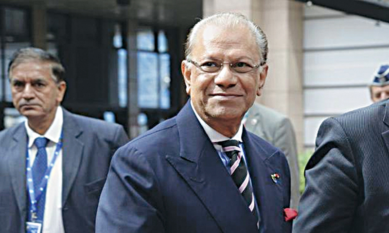 Navinchandra Ramgoolam.—AFP