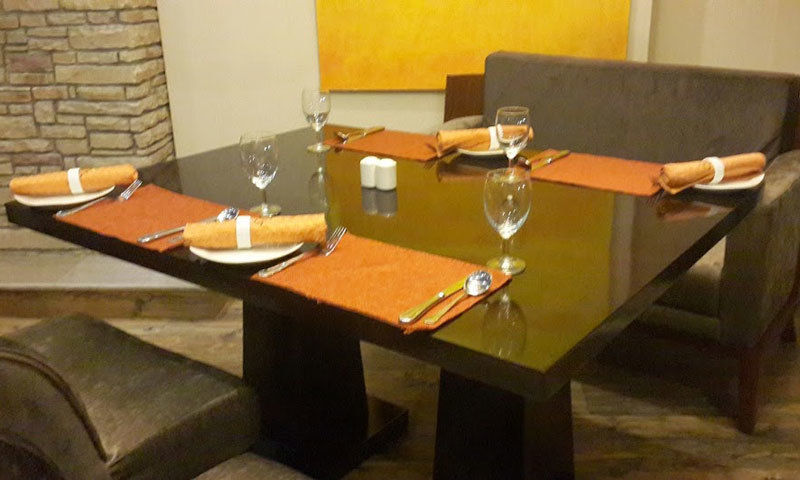 The indoor dining at Citrus. – Photo by author