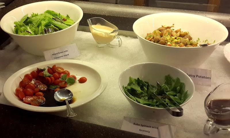 The salad bar is a unique feature of Citrus. – Photo by author