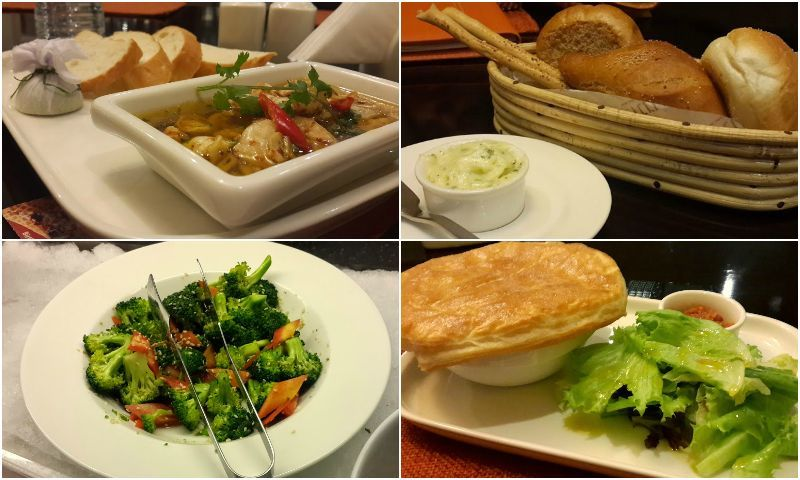 The restaurant menu  focuses on the use of fresh quality produce. - Photos by Kiran Afzal.