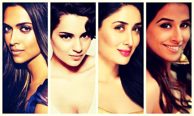 Deepika Padukone, Kangana Ranaut, Kareena Kapoor and Vidya Balan are just some of the stars who are sticking their necks out to point out this disparity.