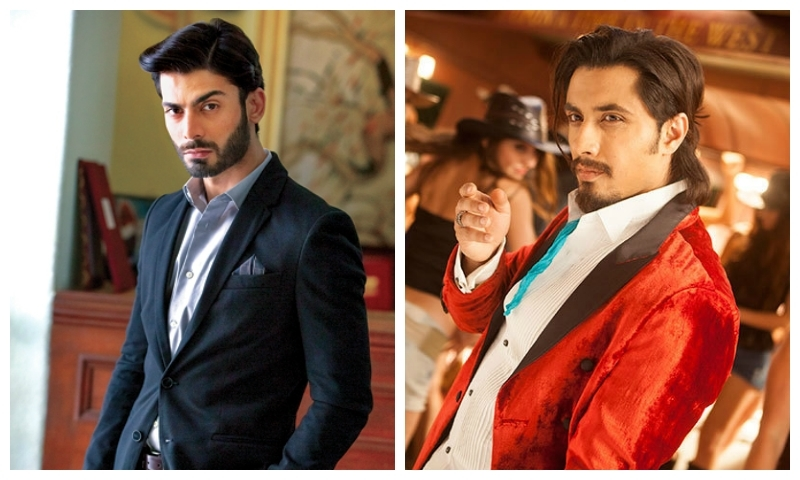 Fawad Khan and Ali Zafar