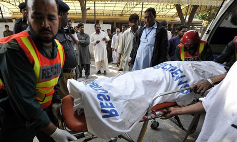 A police officer says bodies were found by a river in Nizampur area; identity and reasons behind killing are yet to be ascertained. – AFP/File