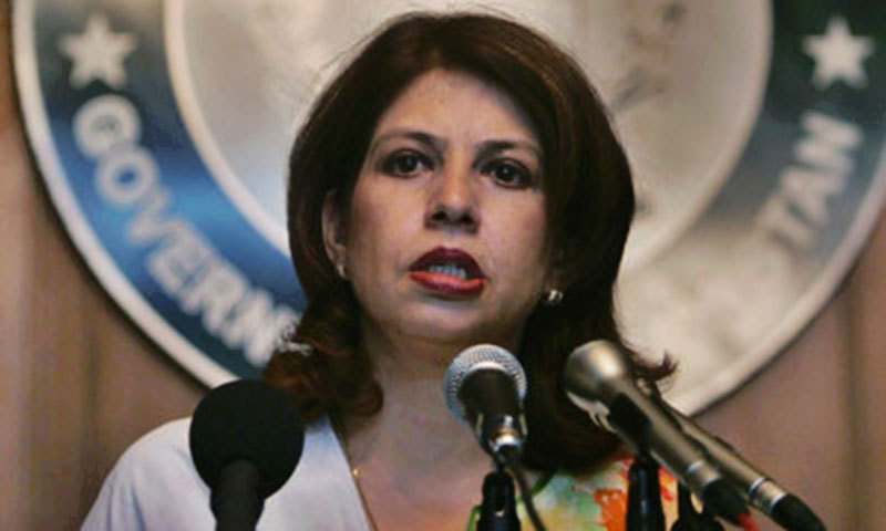 — Foreign Office spokesperson Tasneem Aslam