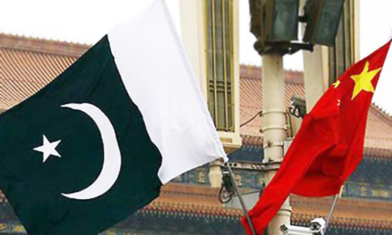 Pakistan, China flags - .— Reuters/File