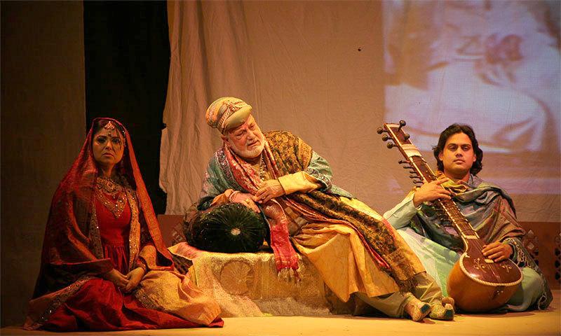 A scene from play 'Dara'. – Photo courtesy: Shahid Nadeem