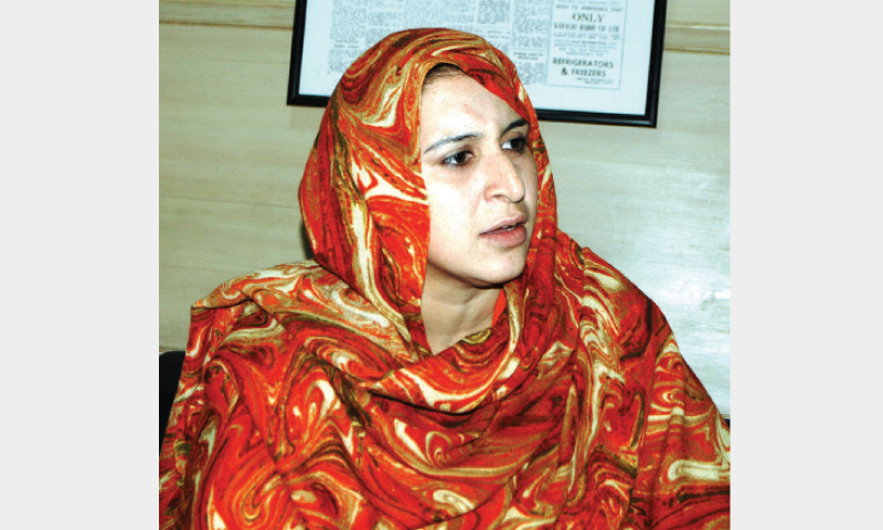 Daily wage teacher Ambreen Shahid expresses her views.