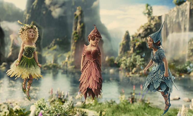 Fairies from the film 'Maleficent'. – Photo courtesy: Novaira Masood