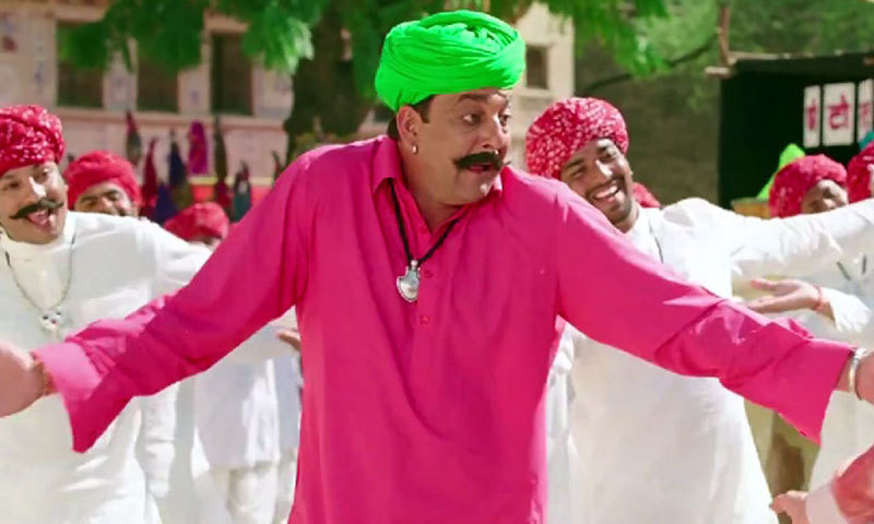 Sanjay Dutt in PK. – Photo courtesy: IBN Live