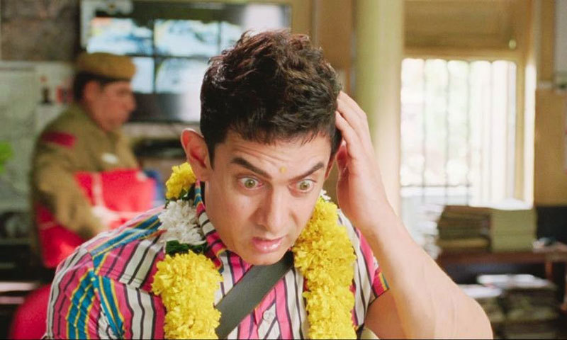 Aamir Khan as PK. – Photo courtesy: prabhatkhabhar.com