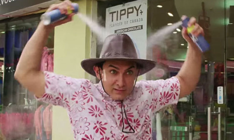 PK takes a lighthearted approach to pressing issues. – Photo courtesy: filmibeat.com