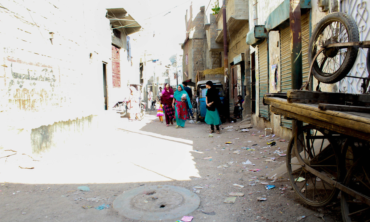 The women in Essa Nagri are confident and relatively better educated then the men.— Affan Shah