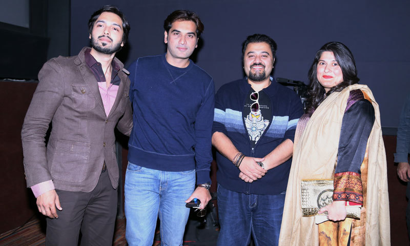 L-R: Fahad Mustafa, Humayun Saeed, Ahmed Ali Butt and Sharmeen Obaid-Chinoy. – Publicity photo