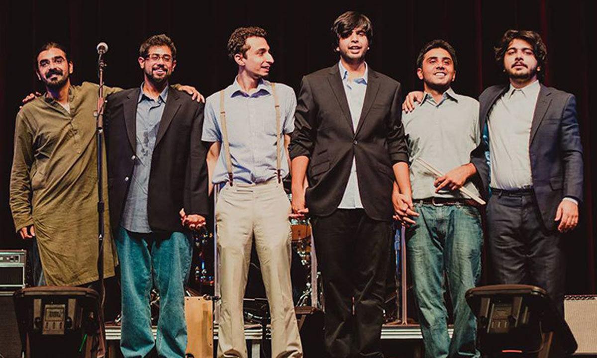 Band members of Poor Rich Boy. – Photo credit: Senna Ahmad