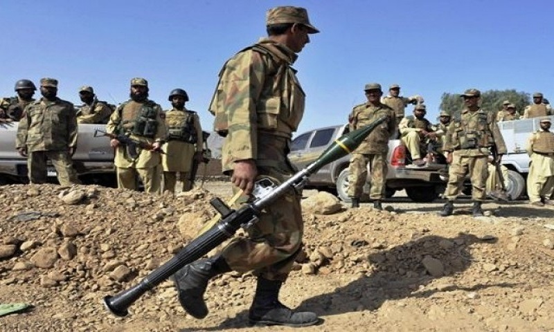 The image shows soldiers from the Pakistan Army. - AFP/File