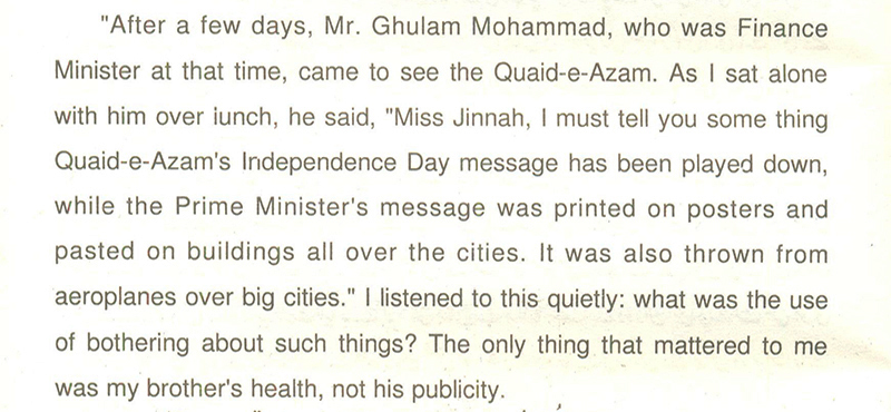 the deleted bits from fatima jinnah s my brother com these were the few words deemed against the ideology of and left out by mr shahab and mr mujahid