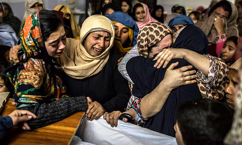No assessment of women can be complete without saluting the courage of the Peshawar attack victims.—Reuters/file.