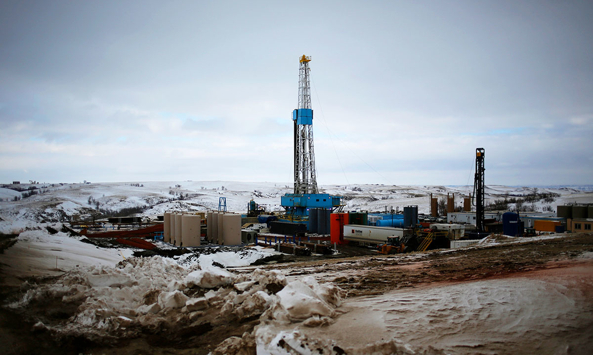Oilmen of North Dakota and Texas have utilised a new technique called fracking to drill out oil from reserves that were earlier inaccessible or considered not viable. —Reuters/file