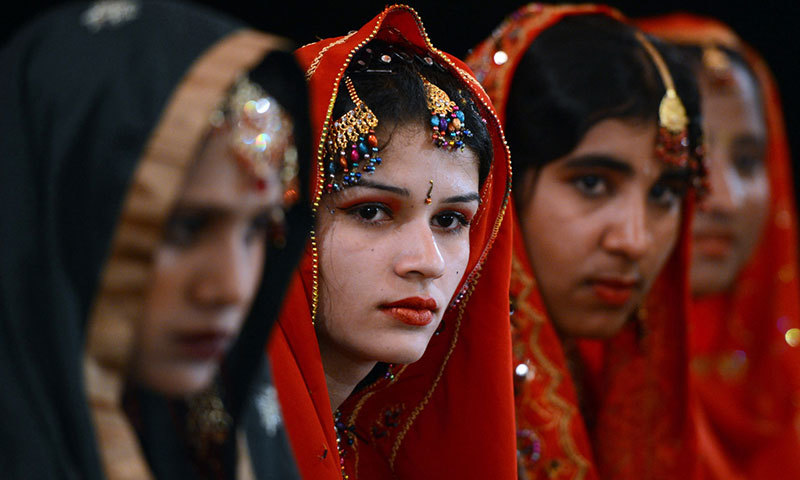 Sindh had 1,261 cases of women being kidnapped for forced marriages in 2014. -AFP/File