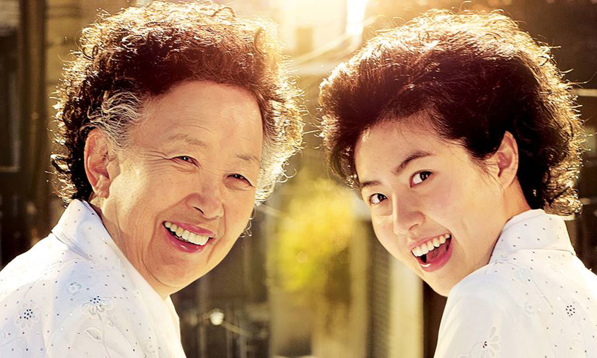 Mun-hee Na and Eun-kyung Shim in 'Miss Granny'. - Photo courtesy: cultmontreal.com