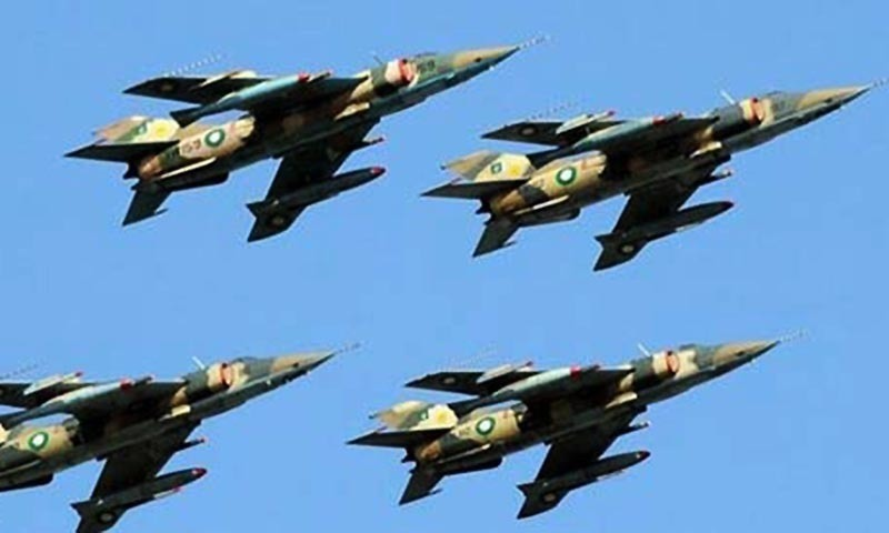 Military fighter jets soaring high in the skies. - AFP/file