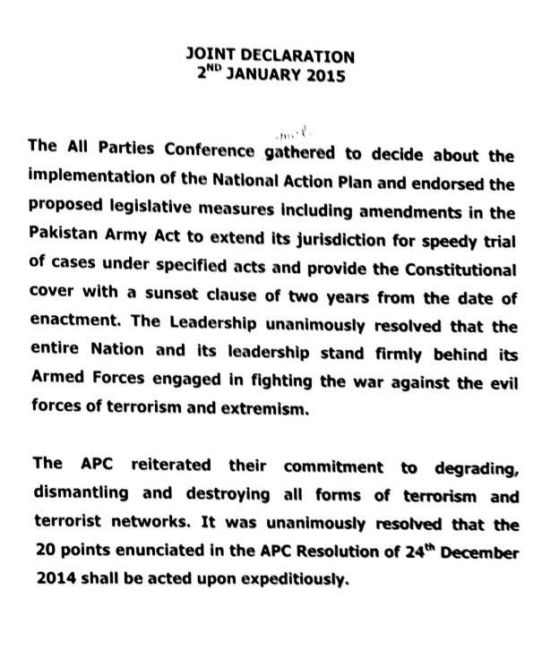 – A copy of MPC joint declaration provided by Mateen Haider